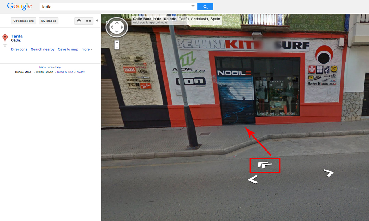 google street view-fotografo acreditado